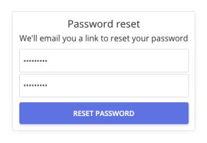 Password inputs