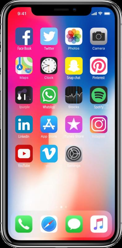Iphone X - INNOVApurple