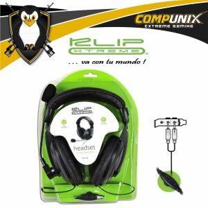 Audifonos PC Klip Extreme KSH-300 A