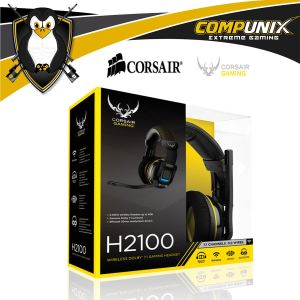 AUDIFONOS WIRELESS GAMER CORSAIR H2100