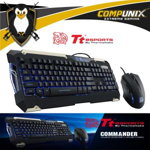 TECLADO Y MOUSE THERMALTAKE COMMANDER COMBO