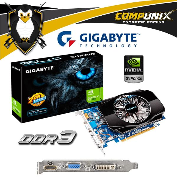VIDEO GIGABYTE GT730 2GB