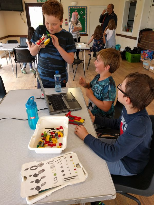 Creative Robotics Coding Camp