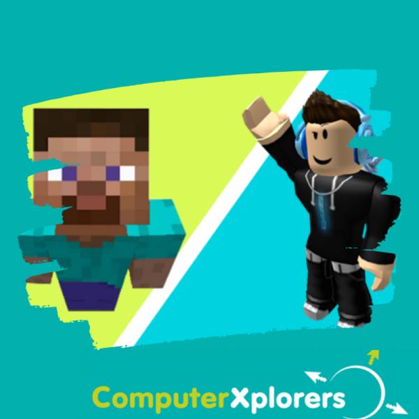 October Camp - Design & Build with Roblox & Minecraft