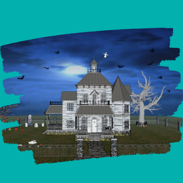 Create a Haunted House using CAD Drawing