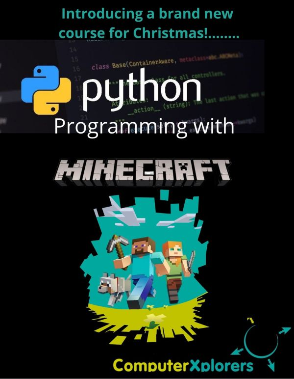Python Programming with Minecraft Online Course
