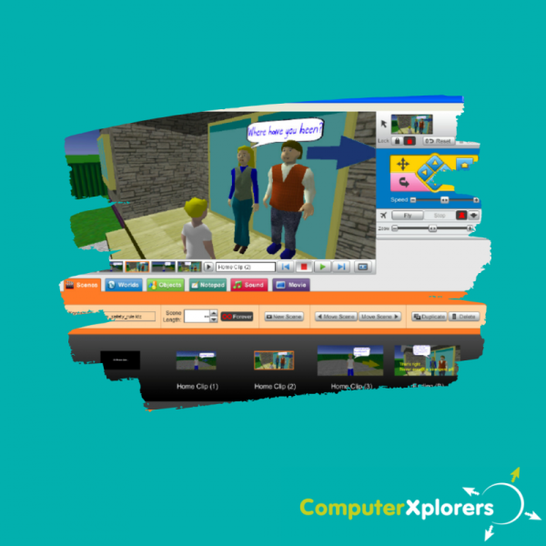 Week Long Session - Create Your Own 3D Animation with Kahootz