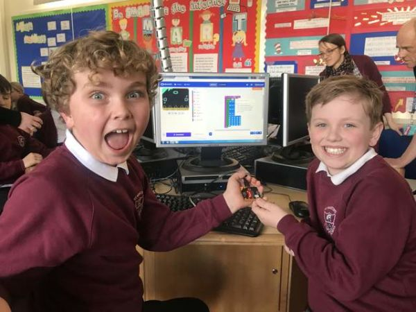 'Programming for Primaries' FREE micro:bit classes