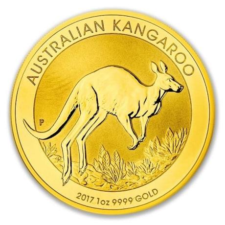 Kenguru aranyérme 1 uncia