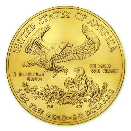 American Eagle aranyérme 1 uncia