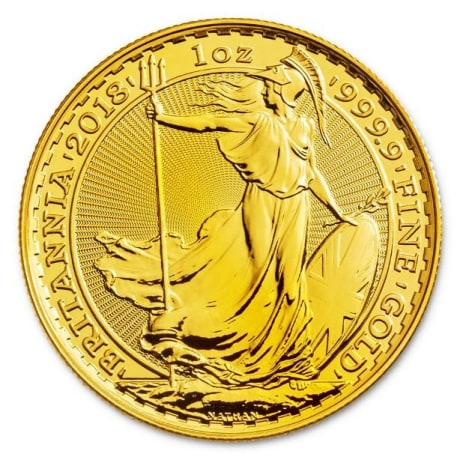 Britannia aranyérme 1 uncia