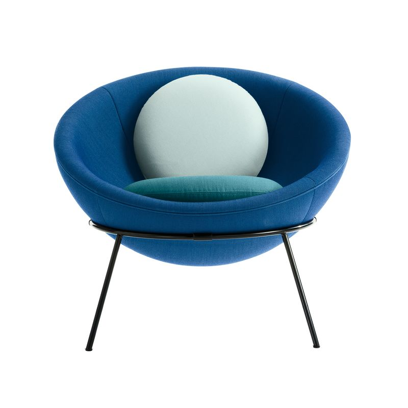"8. ""Bowl Chair"", Lina Bo Bardi für Arper, 1951"