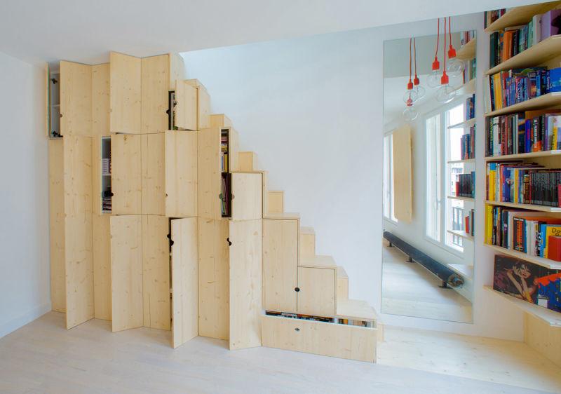 SCHEMAA Treppenschrank
