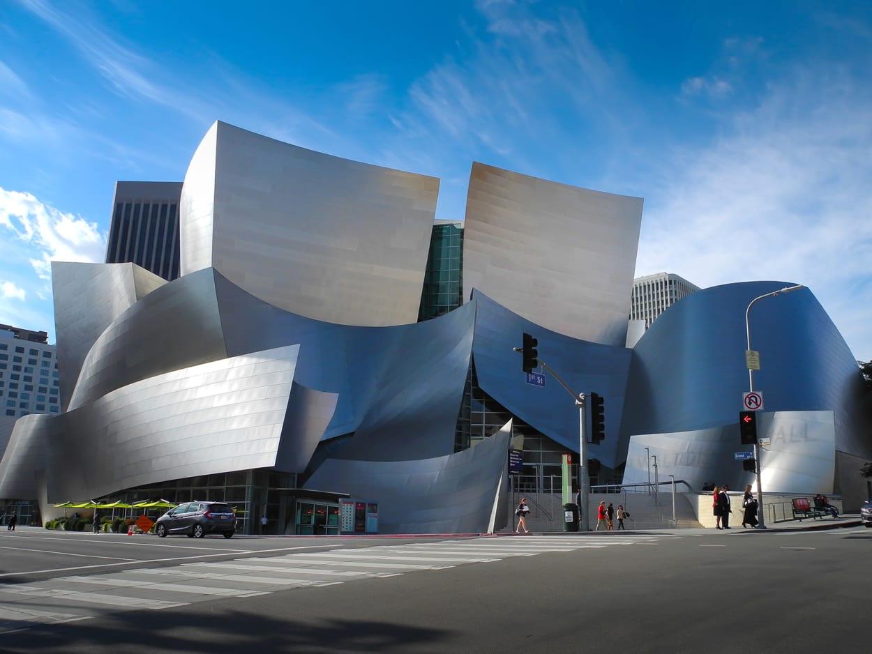 Walt Disney Concert Hall, Los Angeles, Architektur, Dekonstruktivismus, Gehry
