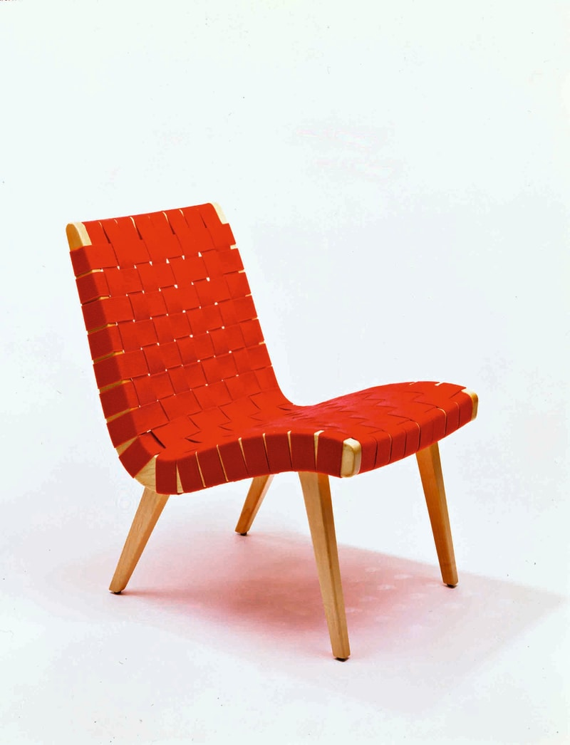 """Risom Lounge Chair"""