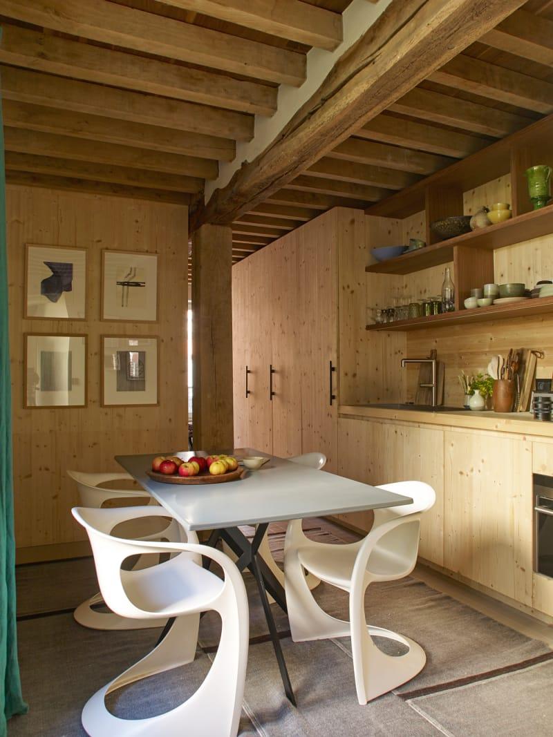 Christophe Delcourt, Küche
