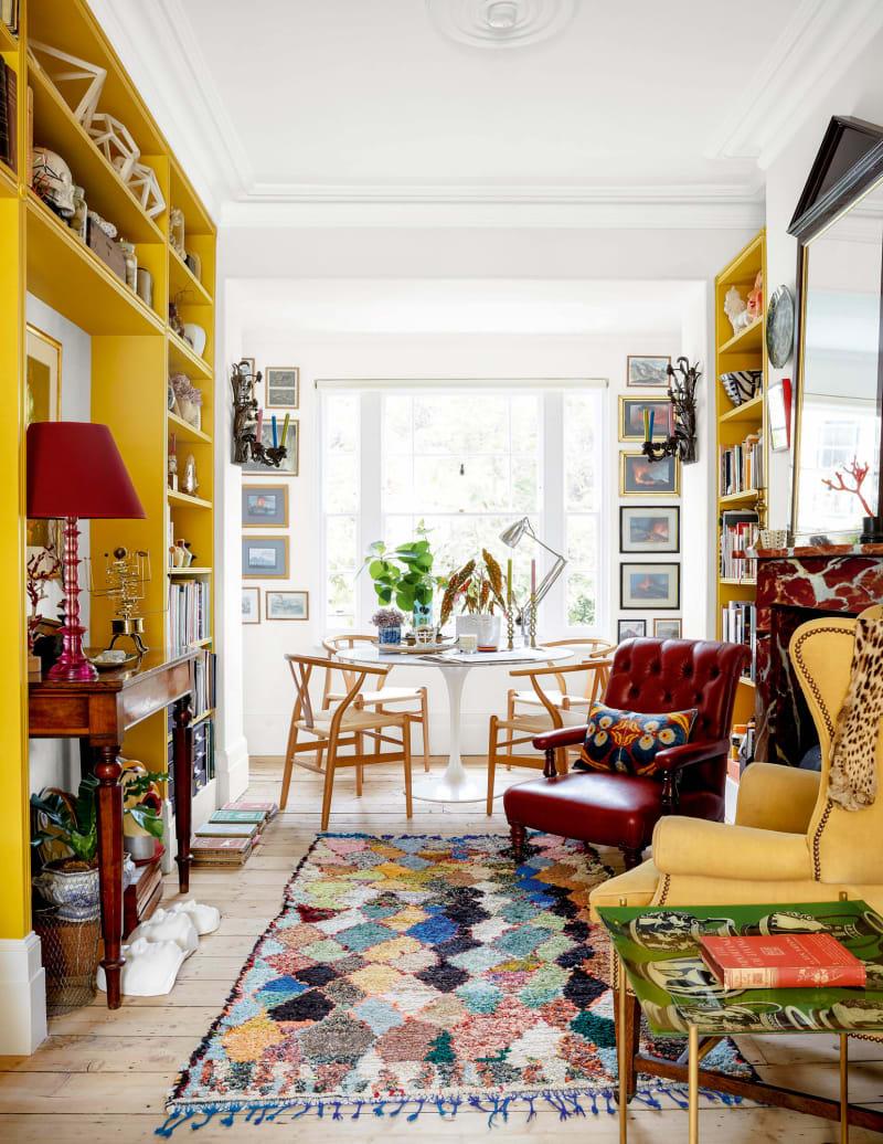 Wohnzimmer von Bridie Halls Haus in London