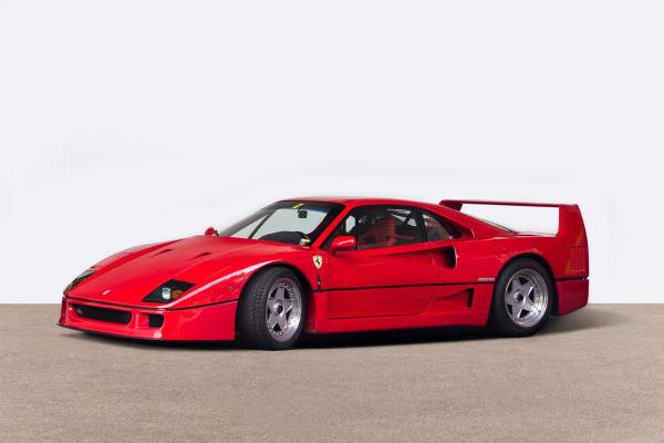 LOT 20: Ferrari F40, Startpreis 550.000 Euro.