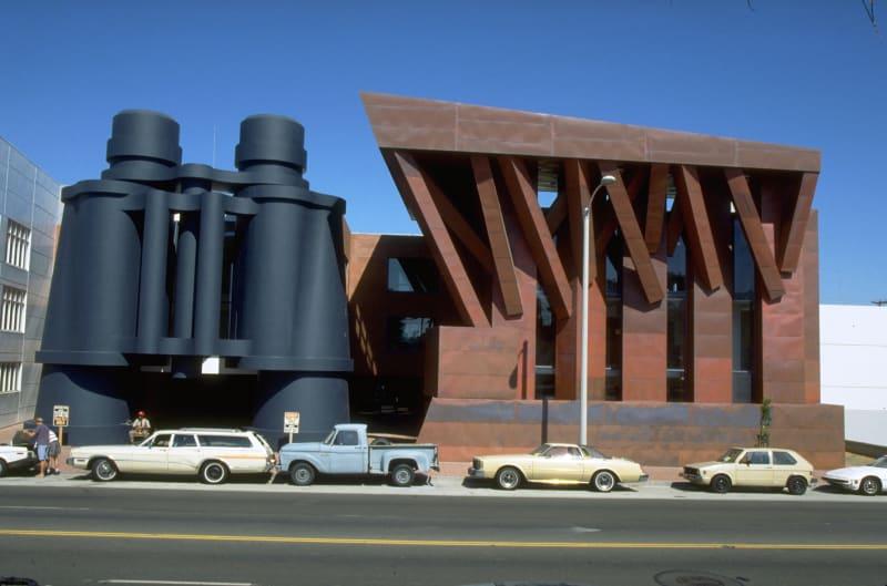 Fernglasgebäude, Los Angeles (1985-1991)
