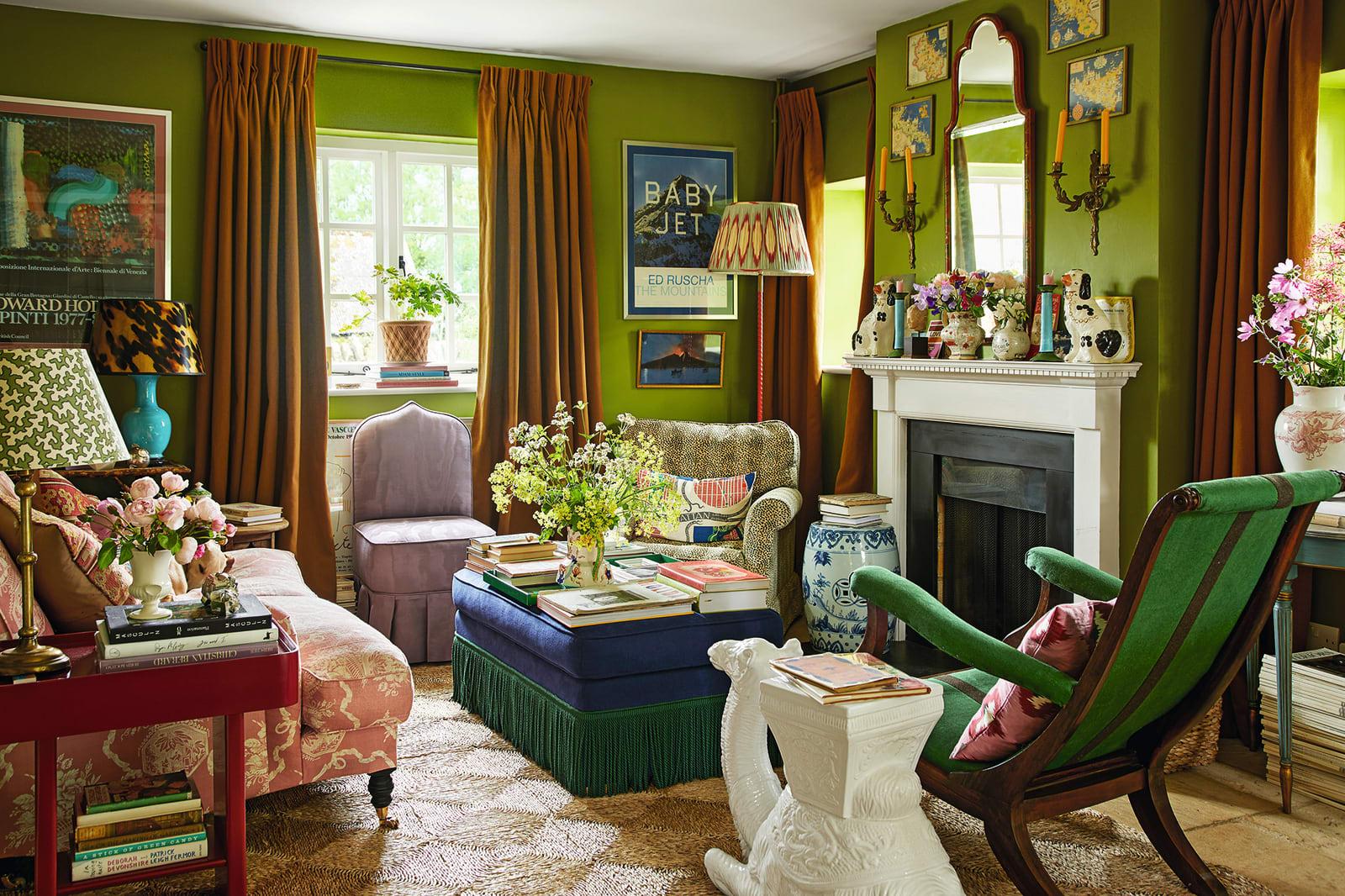 Wohnzimmer Luke Edward Hall