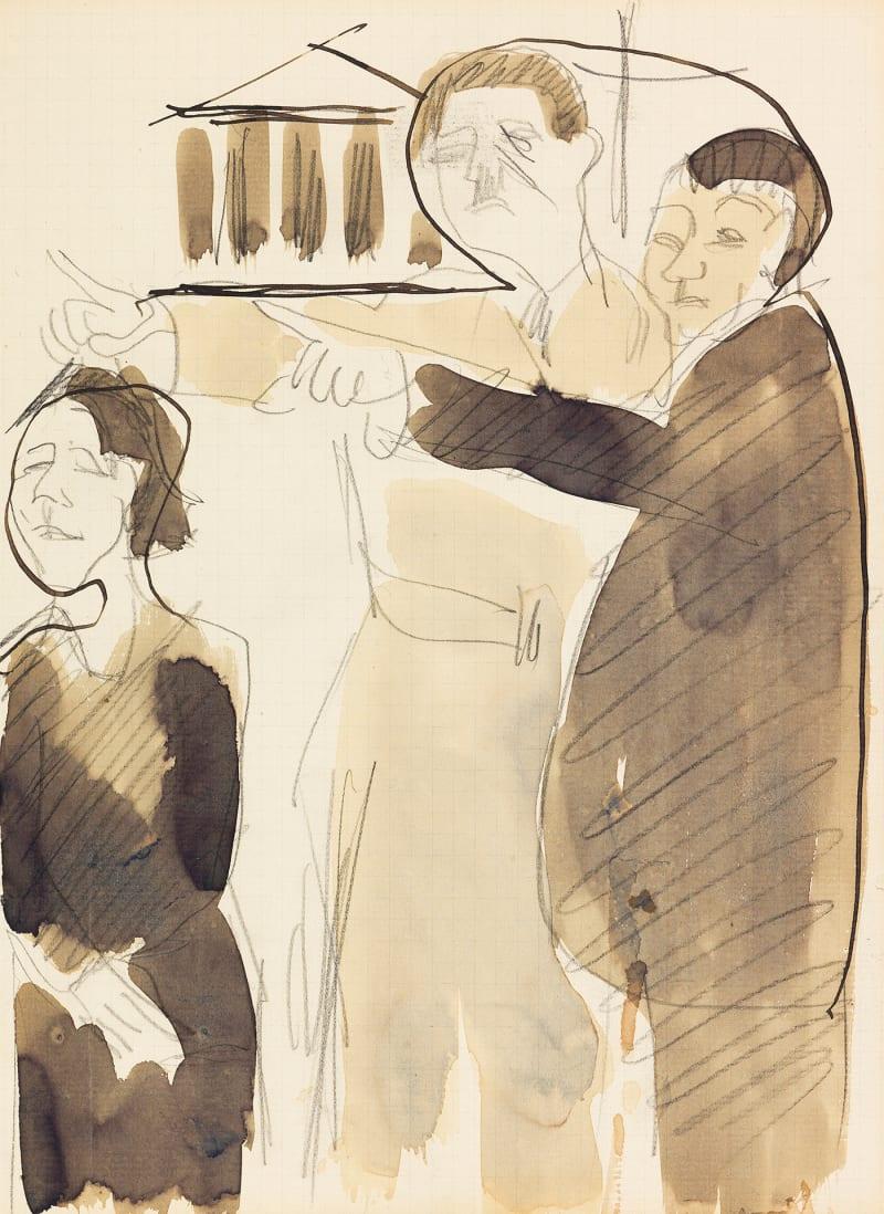 """Ernst Ludwig Kirchner, """"Straßenszene"""""""