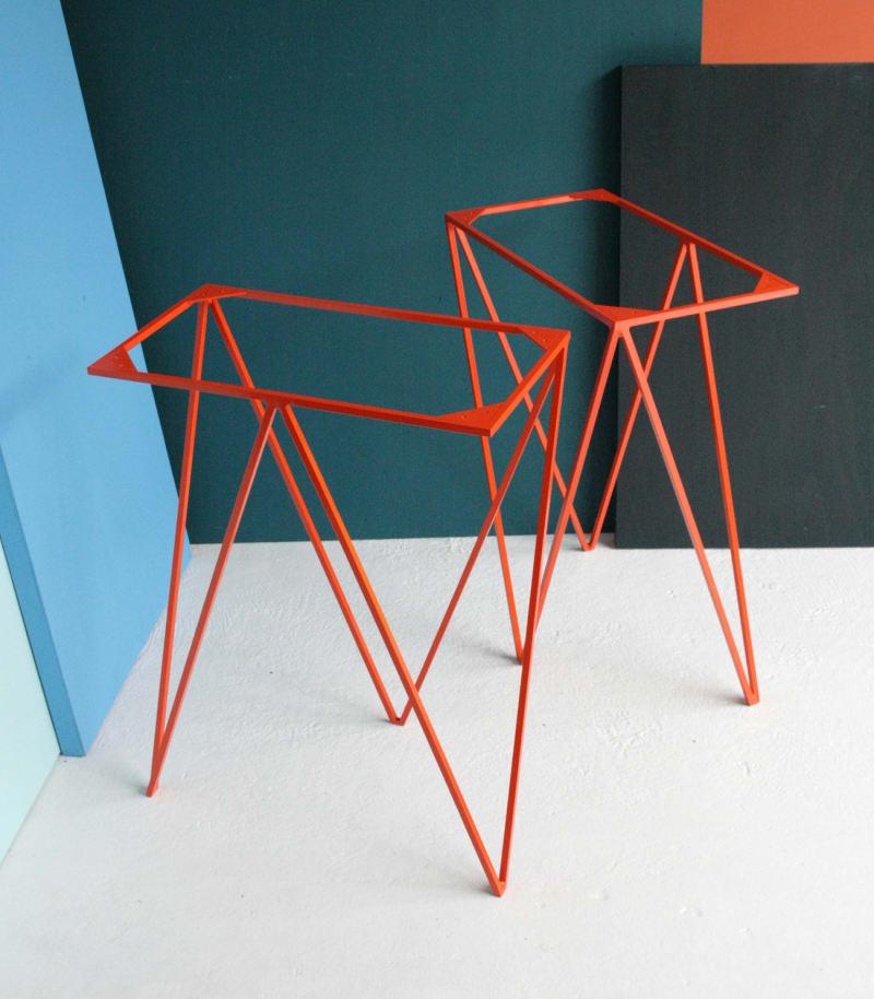 Orange-Zigzag-Trestle-Legs