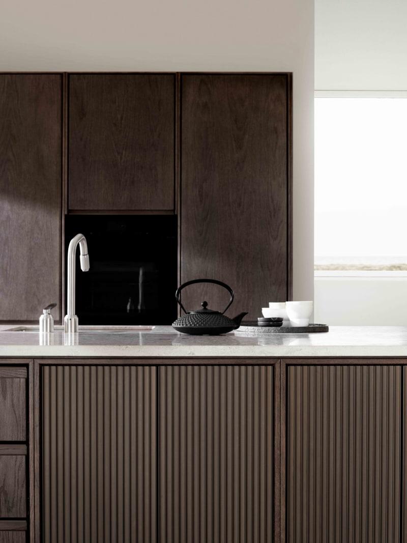 """Spüle der Küche """"V2"""" von Vipp"""
