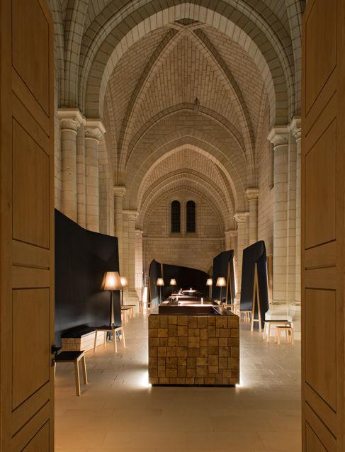 Fontevraud-l'Abbaye, Anjou, Frankreich