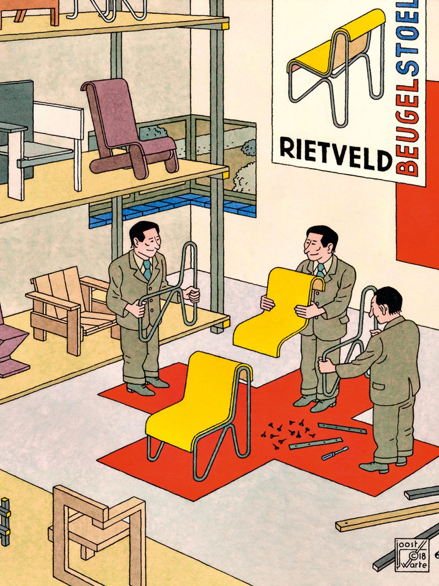 Minimalismus à la mode: Möbel mit klarer Kante