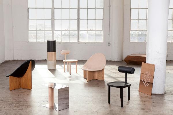 Leder, Holz, Messing, Stahl und Beton: Alle Materialien, die Emiliana Gonzalez und Jessie Young verarbeiten, werden lokal von Handwerkern und Künstlern in Los Angeles produziert.