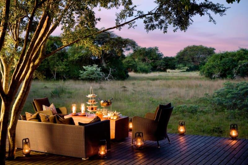 4. Phinda Forerst Lodge, Südafrika