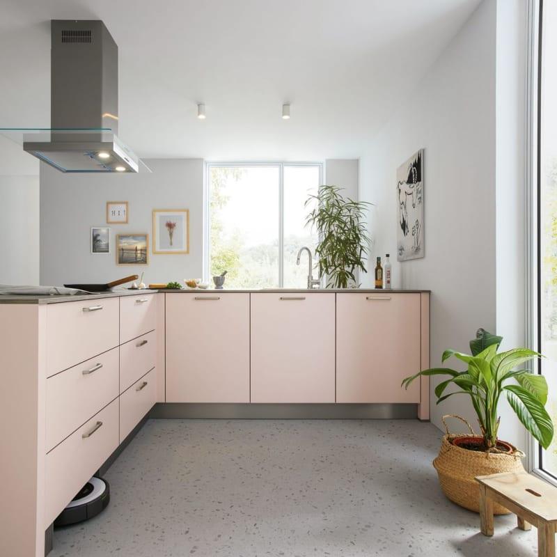 Eine Garage in der Küche