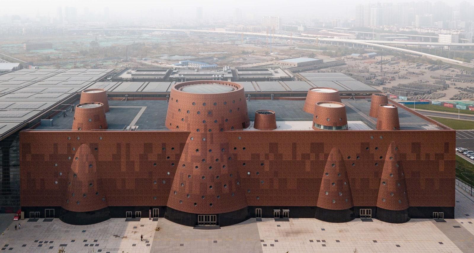 Binhai Science Museum von Bernard Tschumi.