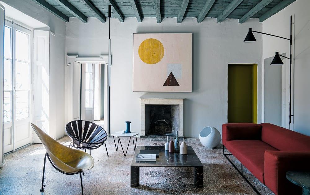 Eine Mailänder Wohnung aus Licht, Farbe und Marmor - AD