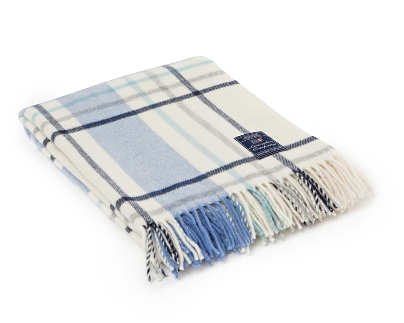 "Lexington ""Classic Check Wool Throw"""