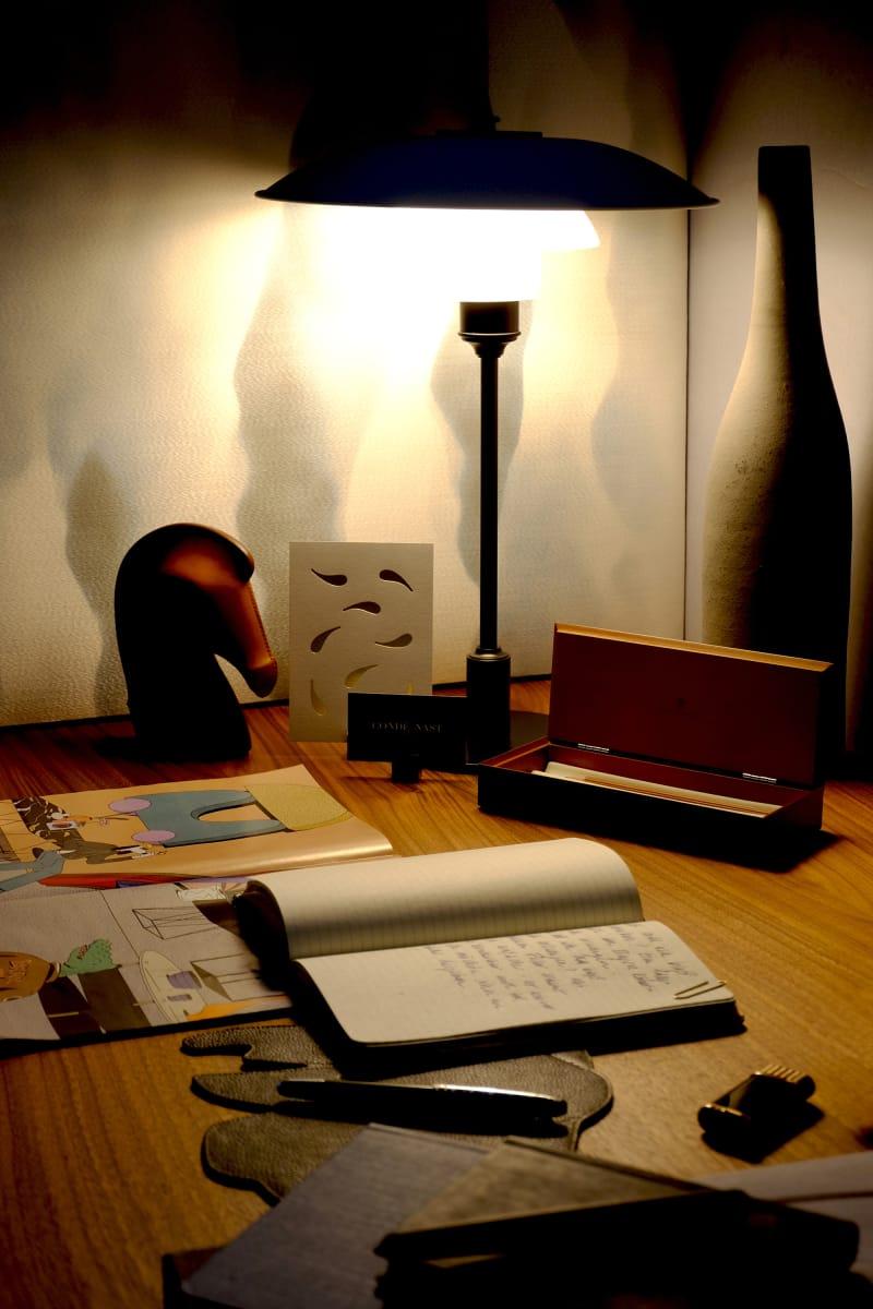 Schreibtisch-Shooting Dunkel