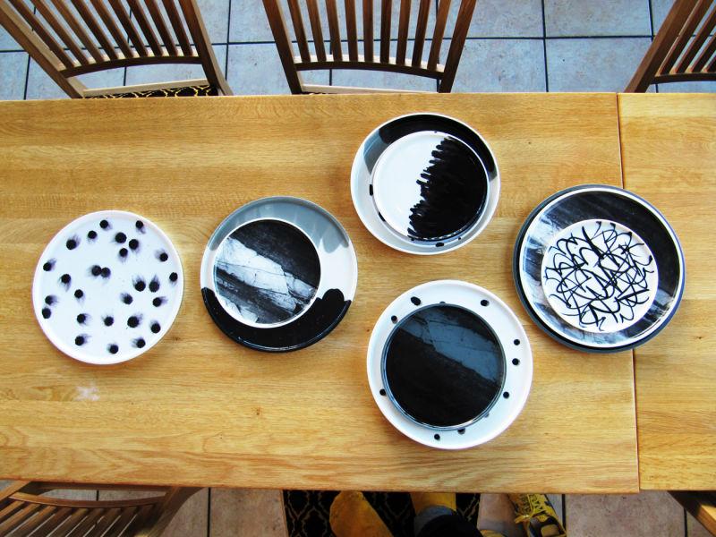 Plates Masayoshi Oya