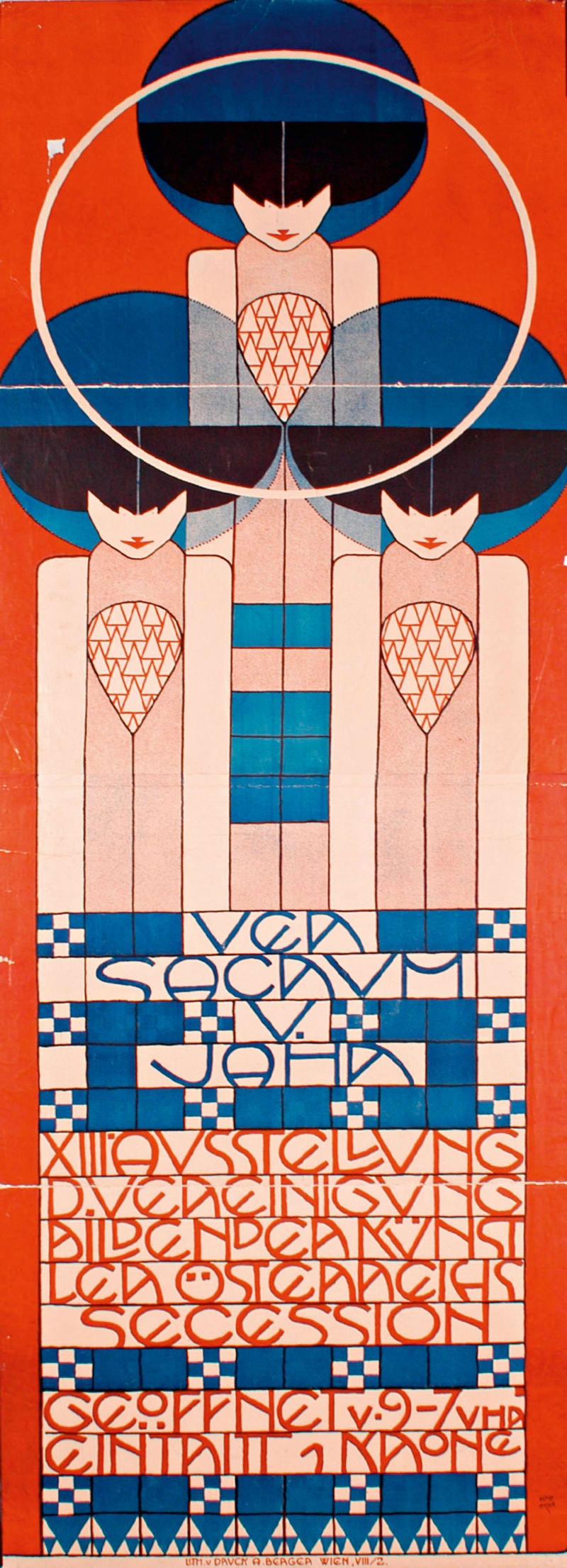 Kolman Moser, Plakat