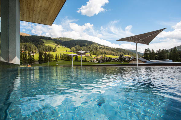 Das Wellness-Hotel Monika in Sexten.