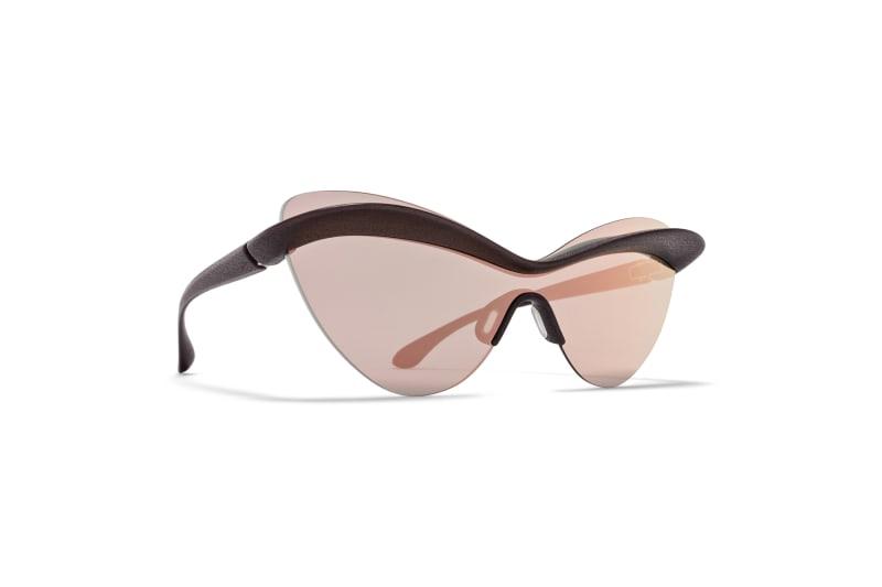 Sportliche Sonnenbrille von Maison Margiela x Mykita