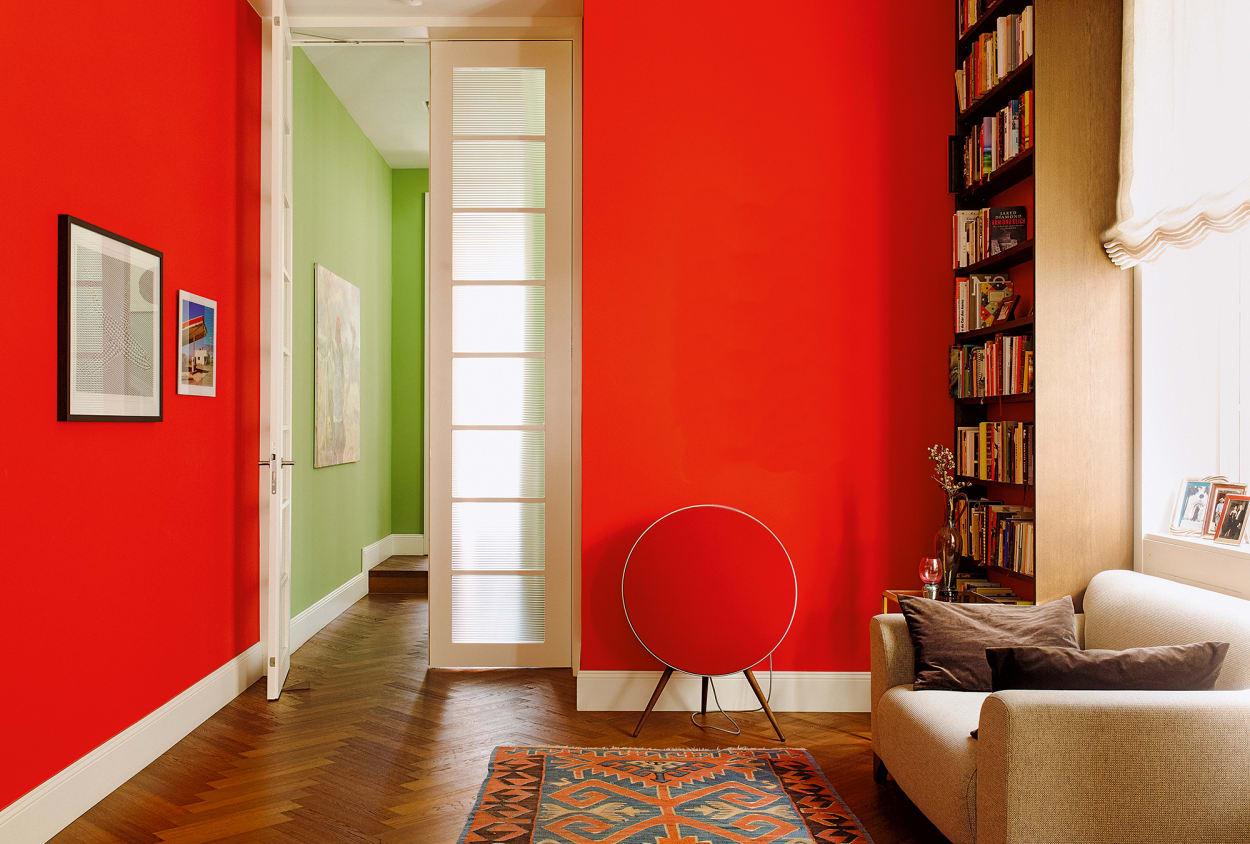 Wandgestaltung: Farben, Tapeten, Anleitungen - AD