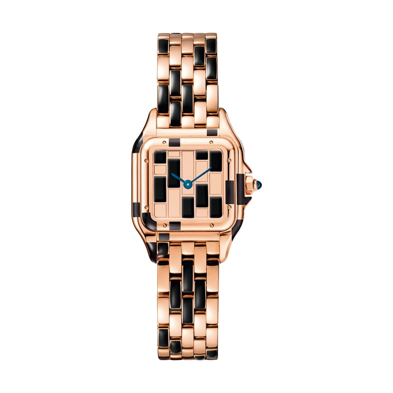 Cartier Uhr rotgold