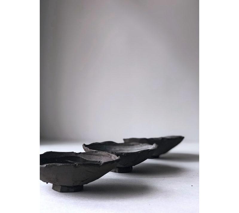 "CanaDai Ceramics, ""Shell Plates"""
