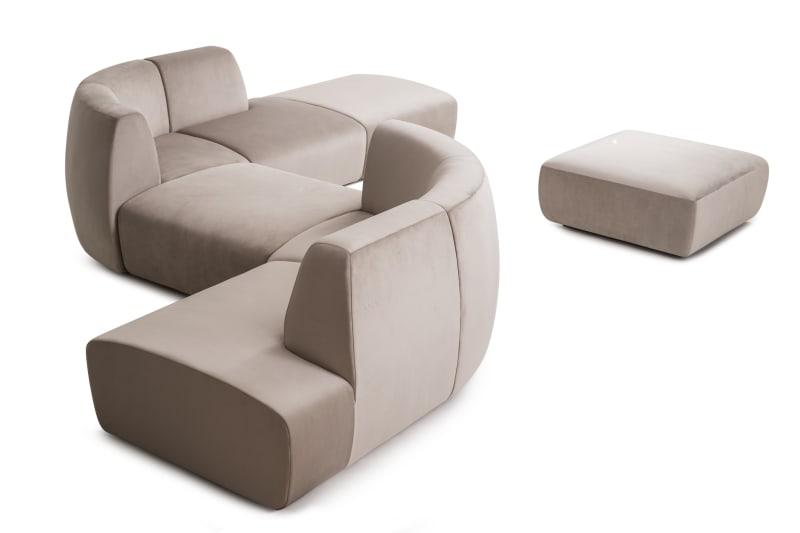 """Sofa """"Infinity"""" von Space Copenhagen für Stellar Works."""