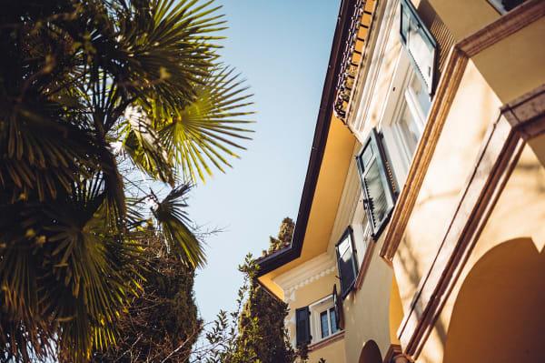 "Die ""Villa Arnica"" in Lana."