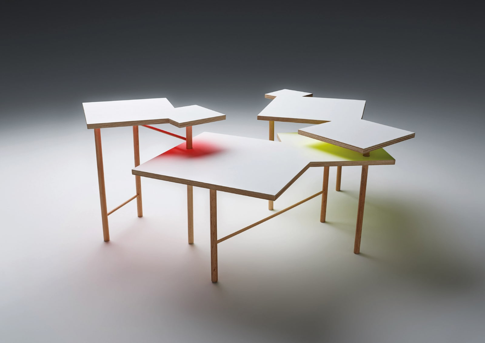 Yo Shimada – Utsuri Table für Hornbach