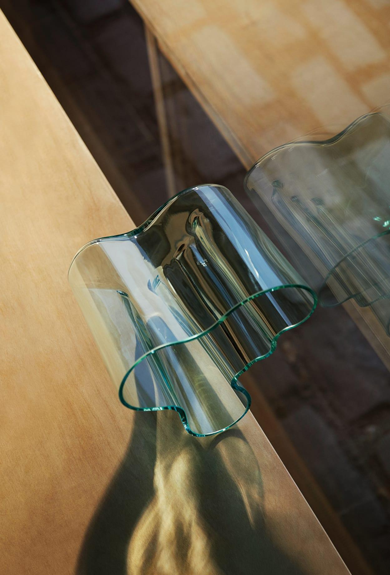 Glasvase von Iittala