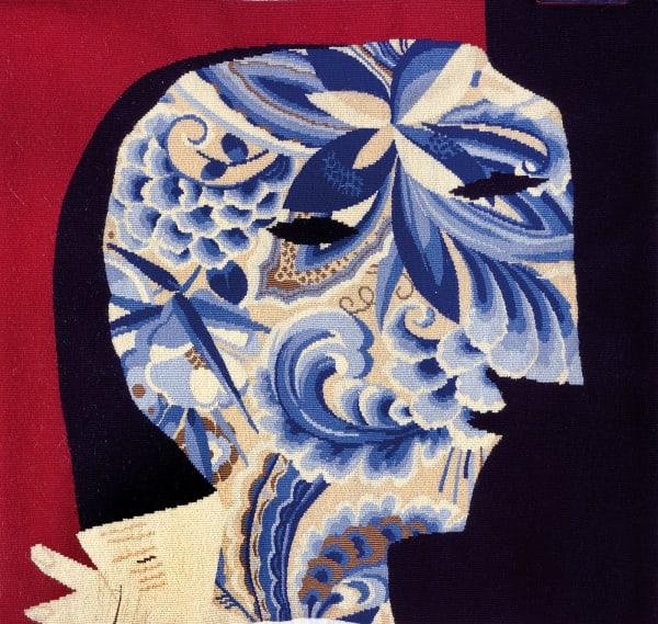 """Die Probe für Pablo Picassos monumentale Tapisserie """"Frauen bei        ihrer Toilette"""" (in der französischen Botschaft in Madrid) stellt das        Spiegelbild seiner Geliebten Dora Maar dar. Oder ist es der Künstler        selbst? Spiegelt sich Dora Maar in ihm? Das Gesicht jedenfalls zwinkert        uns zweideutig zu."""