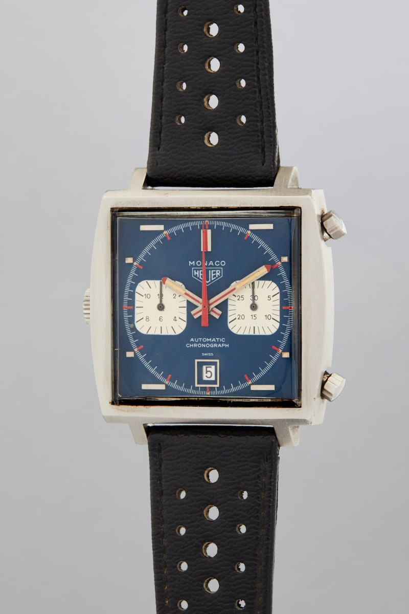 Uhr von Steve McQueen: Racing Pulse Auction Phillips