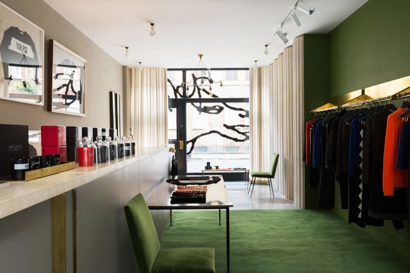 Bella Freud flagship retail space